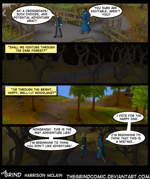 V: Road Less Travelled by thegrindcomic