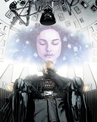 Vader's Remorse by scarletthorse