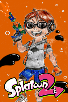 My bro as an Inkling by DestinySpider