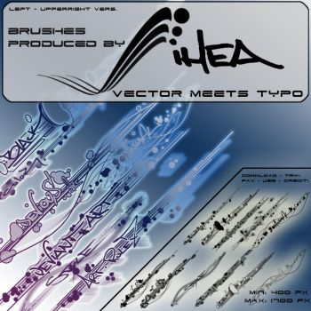 VECTOR MEETS TYPO - HQ by IHEA