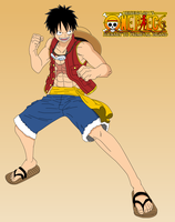 OP Journey to Primeval Island - Monkey D Luffy V2 by HeiseiGoji91
