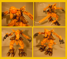 Bionicle MOC - Ground Star by Alex-Darkrai