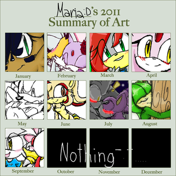 2011 Art Gallery Thingy by MariaTheCat66