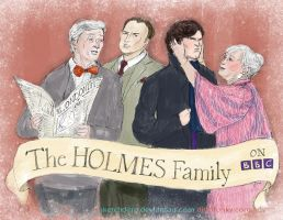 Hanging with the Holmes by sketchditto