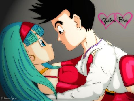 Goten and Bra by torilynn