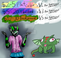 Commision Prices [OPEN] by MonochromaticMare