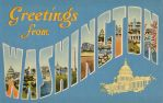 Large Letter Postcards - Washington DC by Yesterdays-Paper