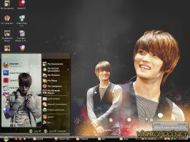JaeJoong l JYJ Theme for Xp by vinhxomdoi