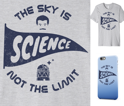 The Sky Is Not The Limit - Neil deGrasse Tyson tee by InfinityWave