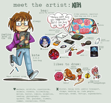 Meet the Artist: KEH by tea-bug