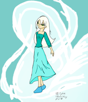 Colored Priestess of Wind by MalangellEliorahan