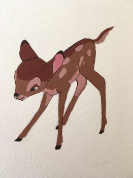 Little Bambi by MesiBubu