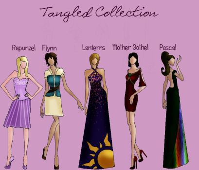 Tangled Collection by TheWhiteSwan