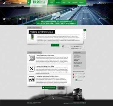 Ecology drive webdesign by 125ml