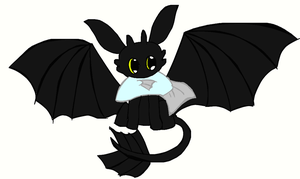 Chibi Toothy! by Ask--Toothless