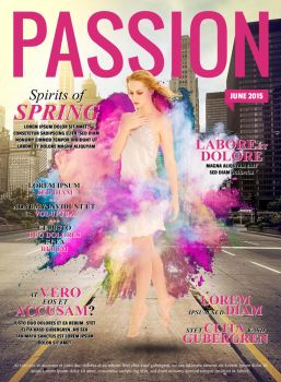 Passion Magazine Cover by weilo82