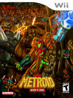 Metroid 2 remake game cover by kritken