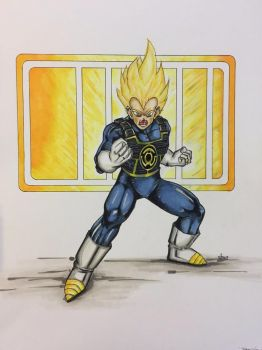 Vegeta of sector 2814, you have been chosen by ringwrm