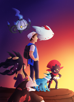 Rayeden the Pokemon Trainer by riceXyummy