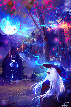 Moon Time by ryky