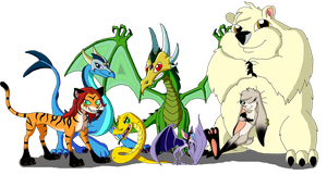 Zowena Cast - Group Shot by Moheart7