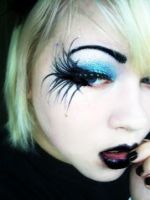 Gothic styled makeup by HavikEatsKidz