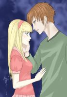 Request: Lillian and Chris W.I.T.C.H by cathrine6mirror
