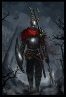 Wandering Knight by Hevion