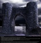 Castle Gates - Stock by Thy-Darkest-Hour