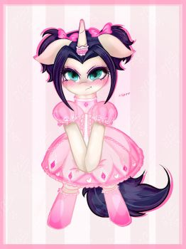 Cutie in pink! by tractareSolidum