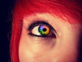 Rainbow eye. by linlinthefox