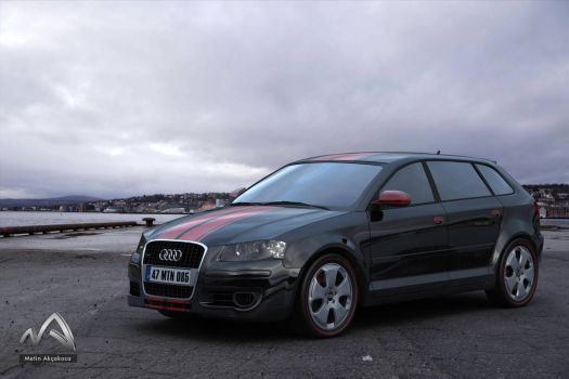 Audi A3 Ambition 2007 by met-out