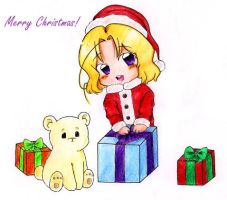 :APH: Canada wishes you a Merry Christmas! by Kuraiko-kyun