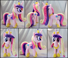Princess Cadance Plushie by lazyperson202