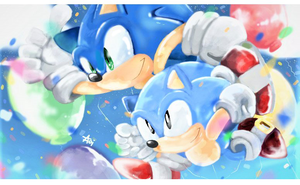 sonic balloons by aoii91