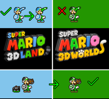 My Problem with Luigi's Boomerang Suit in 3D World by PxlCobit