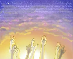 Hands Held High tribute by hamlettheangstmuffin