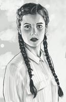 Portrait #1 by foxgodworld