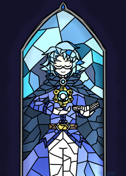 Stained Glass: Seros by Artistic-Sofie
