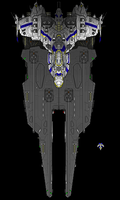 Space Carrier 2 by PrinzEugn