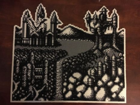 Castlevania 2 Stage select screen for Gameboy. by DOAruss