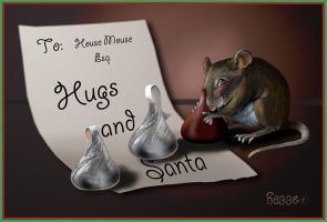 Christmas mouse by Hagge