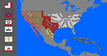 Confederate States of America ca 1880 by FictionalMaps