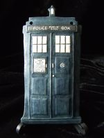 The TARDIS, Doctor Who Ceramic Ornament by FireVerseCeramics