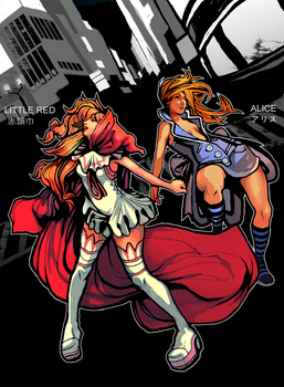 Heroes: Alice and Little Red by RainChilD18