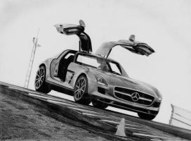 Mercedes-Benz SLS AMG by 2fast-2catch