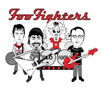 Foo Fighters by grohlsguitar