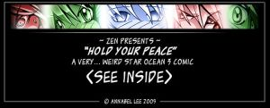 'Hold your peace': SO3 comic by zenphoenixa