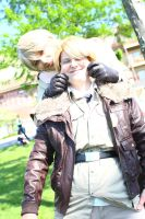 ColossalCon 2014 - Of Scarves and Glasses(PS) 64 by VideoGameStupid