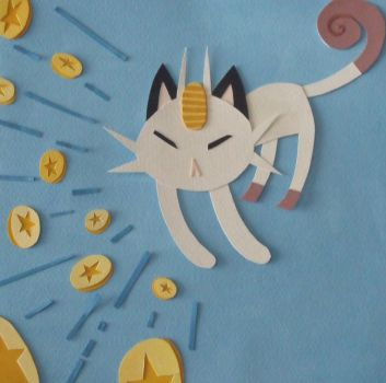 meowth used payday... by Pigglesworth